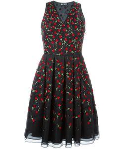 Holly Fulton | Расклешенное Платье С Цветами Из Пайеток