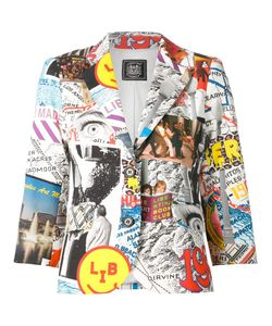 Libertine | Collage Print Blazer