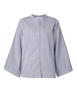 Maison Rabih Kayrouz | Полосатая Рубашка С Широкими Рукавами