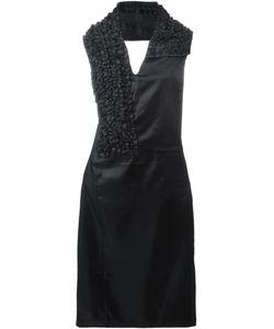 Comme Des Garcons | Платье С Вырезом-Петлей Халтер