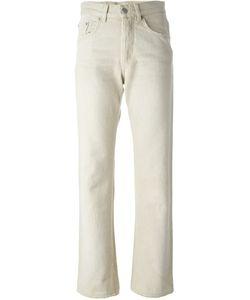 HELMUT LANG VINTAGE | Distressed Straight Leg Jeans