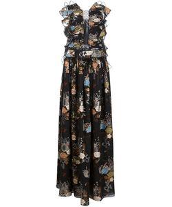 Chloe | Длинное Платье С Цветочным Принтом