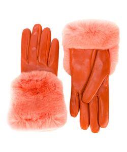 Gala | Перчатки С Манжетами Из Кроличьего Меха