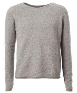 The Elder Statesman | Raw Round Neckline Sweater