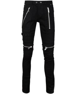 99 IS   Zip Detail Trousers