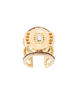LEDA OTTO | Multiple Stone Adjustable Ring