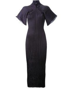 Iris Van Herpen | Плиссированное Платье В Стиле Кимоно
