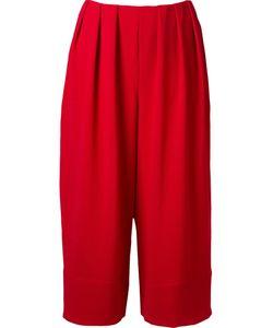 FERNANDA YAMAMOTO | Pleated Waist Wide Cropped Trousers
