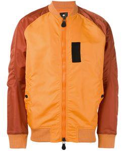 Maharishi   Куртка-Бомбер С Панельным Дизайном
