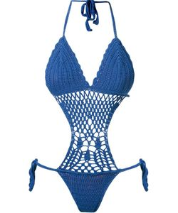 SKINBIQUINI | Pattern Knit Swimsuit