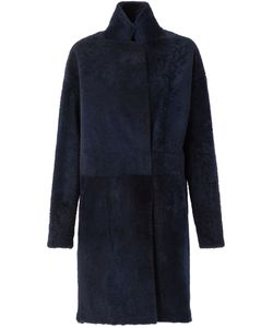 32 PARADIS SPRUNG FRERES | Reversible Coat With A High Standing Collar