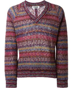MISSONI VINTAGE | Pattern Striped Sweater