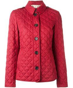 Burberry Brit | Стеганая Куртка С Клетчатой Подкладкой