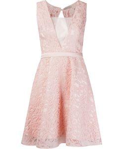 MARTHA MEDEIROS | Расклешенное Кружевное Платье