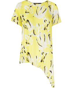 ANDREA MARQUES | Асимметричная Рубашка С Абстрактным Принтом
