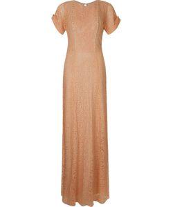 EMANNUELLE JUNQUEIRA | Кружевное Платье С Вышивкой