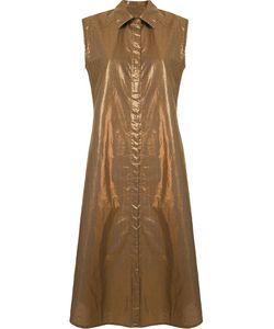 EMANNUELLE JUNQUEIRA | Платье-Рубашка С Классическим Воротником