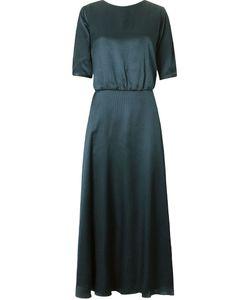 EMANNUELLE JUNQUEIRA | Round Neck Polka Dot Pattern Gown