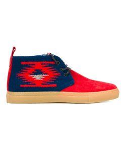 DEL TORO SHOES   Ботинки На Шнуровке С Узором Навахо