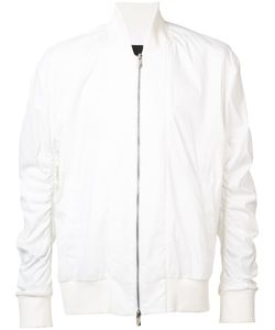D. Gnak | D.Gnak Gathered Sleeves Bomber Jacket Size