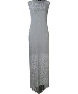 Uma | Длинное Платье Выжженного Дизайна