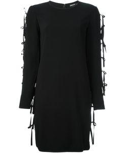 DKNY | Платье-Свитер Со Шнуровкой