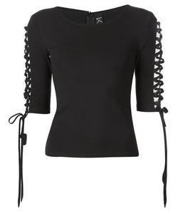 KO STUDIO | Lace Detail Half Sleeve T-Shirt
