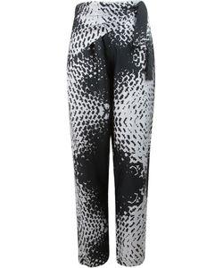 Uma | Abstract Print Straight Leg Trousers