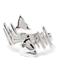 KAMUSHKI | 18kt And Sapphire Knuckle Ring