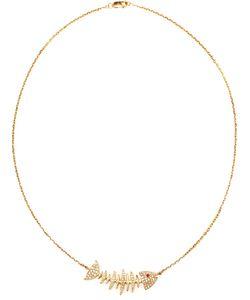KAMUSHKI | 18k Diamond And Sapphire Necklace