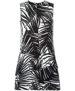 Marc Jacobs | Расклешенное Платье С Растительным Узором