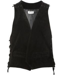 BEAU SOUCI | Lace-Up Detail Waistcoat