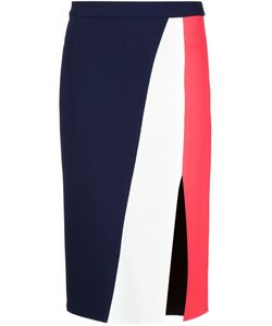 TANYA TAYLOR | Panelled Straight Skirt
