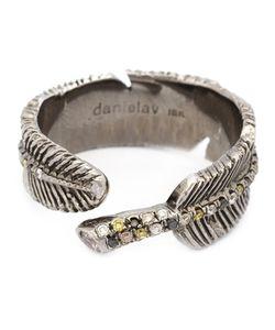 DANIELA VILLEGAS | Diamond Leaf Ring