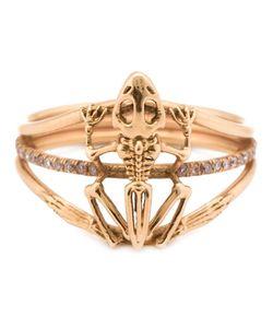 DANIELA VILLEGAS | Frog Skeleton Diamond Ring