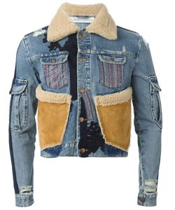 James Long | Patchwork Denim Jacket
