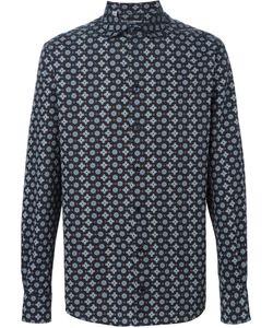 Dolce & Gabbana | Рубашка С Геометрическим Узором
