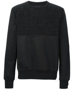 LETASCA | Woven Strap Sweatshirt
