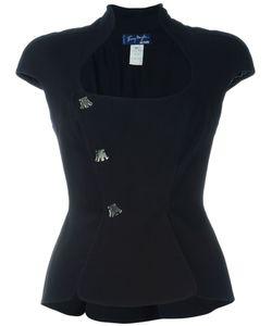 THIERRY MUGLER VINTAGE | Victoriana Style Neckline Jacket
