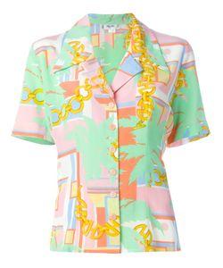 Celine Vintage   Рубашка С Принтом