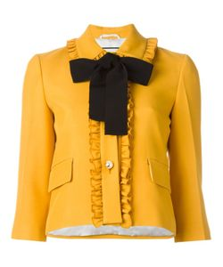 OUTSOURCE IMAGES | Ruffle Trim Jacket