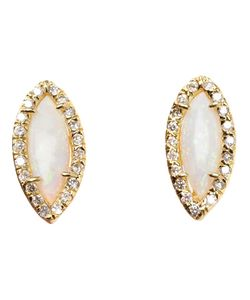 KIMBERLY MCDONALD | Opal And Diamond Stud Earrings