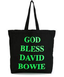 HOUSE OF VOLTAIRE | Сумка-Тоут Jeremy Deller God Bless David Bowie
