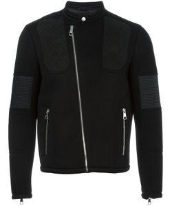 Neil Barrett | Байкерская Куртка С Панельным Дизайном