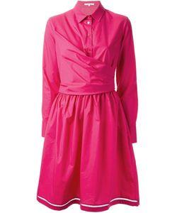 Carven | Расклешенное Платье-Рубашка