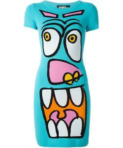 Jeremy Scott | Трикотажное Платье С Анимационным Принтом