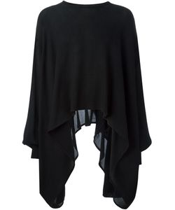 MADS DINESEN | Fine Knit Poncho Sweater