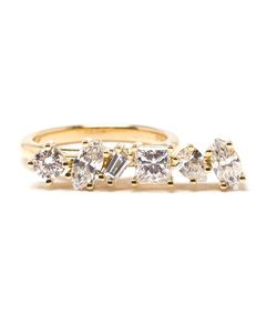 KIMBERLY MCDONALD | Offset Bar Diamond Ring
