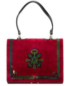 ROBERTA DI CAMERINO VINTAGE | Printed Velvet Handbag