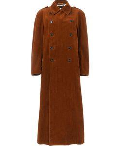 Comme Des Garcons | Длинное Вельветовое Пальто